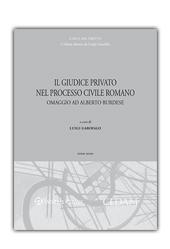 Il giudice privato nel processo civile romano - Tomo III
