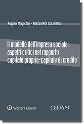 Il modello dell'impresa sociale: aspetti critici nel rapporto capitale proprio-capitale di credito
