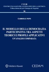 Il modello della democrazia partecipativa tra aspetti teorici e profili applicativi un'analisi comparata