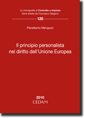 Il principio personalista nel diritto dell'Unione Europea