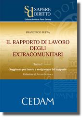 Il rapporto di lavoro degli extracomunitari. Tomo I: Soggiorno per lavoro e svolgimento del rapporto