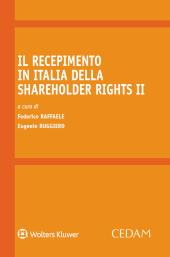 Il recepimento in italia della shareholder rights II
