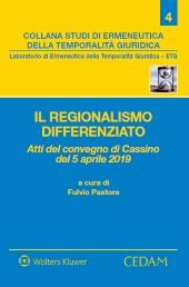 Il regionalismo differenziato
