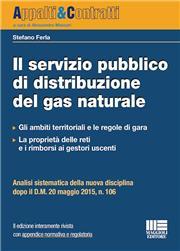 Il servizio pubblico di distribuzione del gas naturale