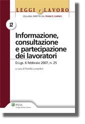 Informazione, consultazione e partecipazione dei lavoratori