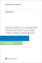 Introduzione alla Convenzione Europea dei Diritti dell'Uomo e delle Libertà Fondamentali