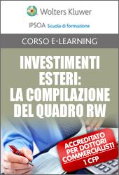 Investimenti esteri: la compilazione del Quadro RW
