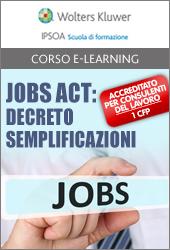 Jobs Act: Decreto Semplificazioni