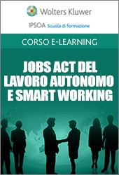 Jobs Act del lavoro autonomo e smart working