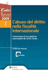 L'abuso del diritto nella fiscalità internazionale