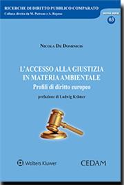 L'accesso alla giustizia in materia ambientale