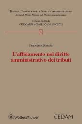 L'affidamento nel diritto amministrativo dei tributi