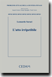 L'atto Irripetibile