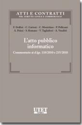 L'atto pubblico informatico