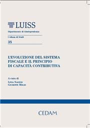 L'evoluzione del sistema fiscale e il principio di capacita'contributiva