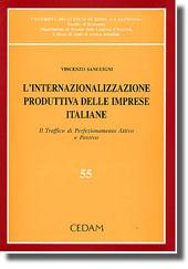 L'internazionalizzazione produttiva delle imprese italiane