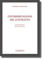 L'interpretazione del contratto