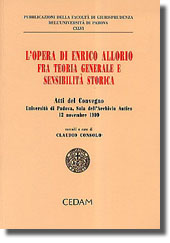 L'opera di Enrico Allorio fra teoria generale e sensibilità storica.