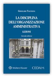 La Disciplina dell'Organizzazione Amministrativa
