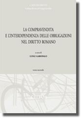 La compravendita e l'interdipendenza delle obbligazioni nel diritto romano II