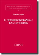 La cooperazione internazionale in materia tributaria