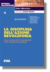 La disciplina dell'azione revocatoria