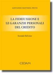 La fideiussione e le garanzie personali del credito