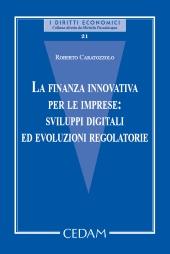 La finanza innovativa per le imprese: sviluppi digitali ed evoluzioni regolatorie