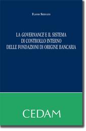 La governance e il sistema di controlo interno delle fondazioni di origine bancaria
