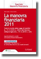 La manovra finanziaria 2011