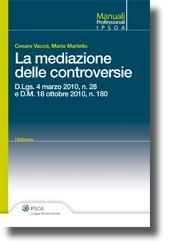 La mediazione delle controversie