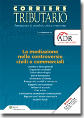 La mediazione nelle controversie civili e commerciali