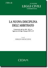 La nuova disciplina dell'arbitrato