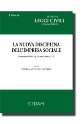 La nuova disciplina dell'impresa sociale