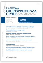 La nuova giurisprudenza civile commentata