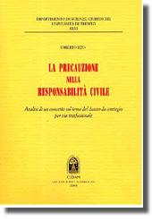 La precauzione nella responsabilità civile