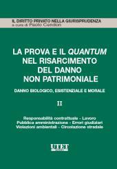 La prova e il quantum nel risarcimento del danno non patrimoniale