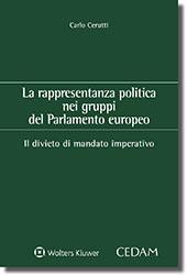 La rappresentanza politica nei gruppi del Parlamento europeo