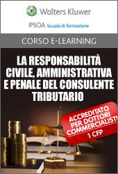La responsabilità civile, amministrativa e penale del consulente tributario