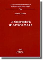 La responsabilità da contatto sociale