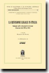La revisione legale in Italia