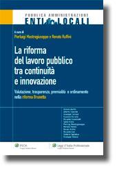 La riforma del lavoro pubblico tra continuità e innovazione