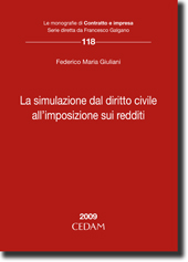 La simulazione dal diritto civile all'imposizione sui redditi
