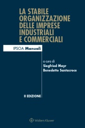 La stabile organizzazione delle imprese industriali e commerciali