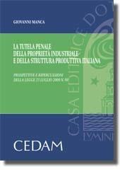La tutela penale della proprietà industriale e della struttura produttiva italiana