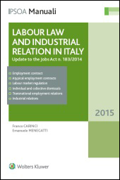 Labour Law and Industrial Relations in Italy