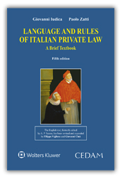 Language and rules of italian private law