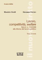 Lavoro, competitività, welfare. Tomo II