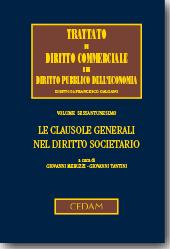 Le clausole generali nel diritto societario