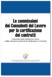 Le commissioni dei CDL per la certificazione dei contratti